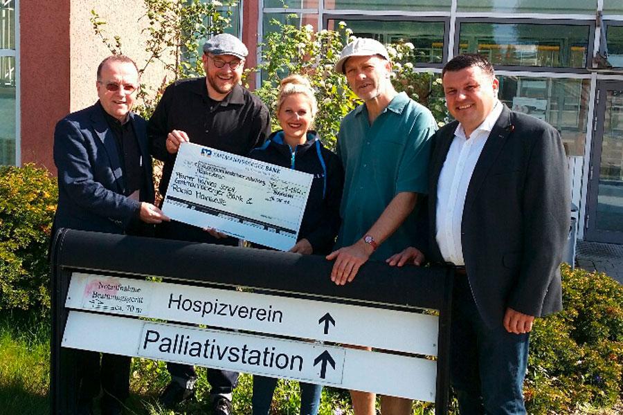 Spendenüberreichung an den Hospizverein Bayreuth e. V.