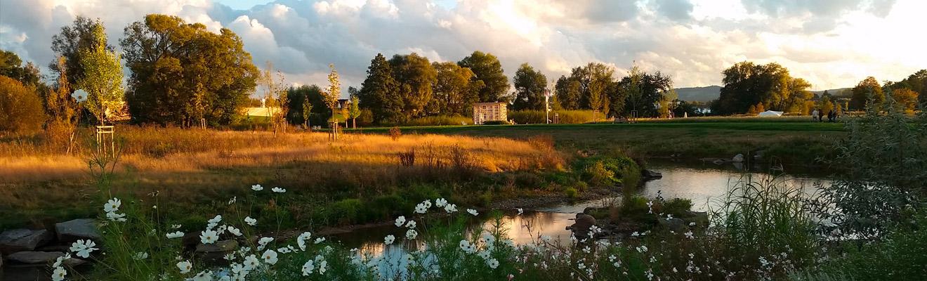 Flusslandschaft | Hospizverein Bayreuth | Hospizbegleiterschulung