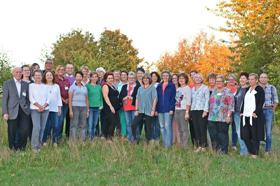 Ehrenamtliche Mitarbeiter des Hospizvereins Bayreuth e. V.